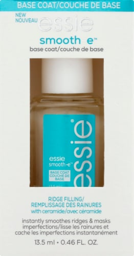 Essie Smooth-e Base Coat Nail Polish - Clear Perspective: front