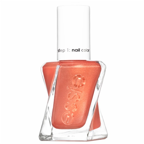 Essie Gel Couture Sunrush-Metal Nail Polish Perspective: front
