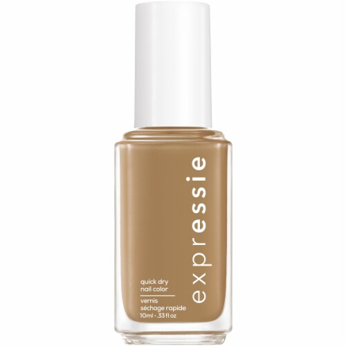 Essie ExprEssie Quick-Dry Don't Be Latte Nail Polish Perspective: front