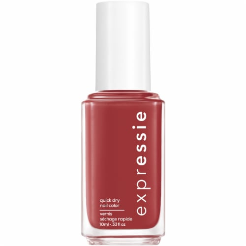 Essie ExprEssie Quick-Dry Notifications On Nail Polish Perspective: front