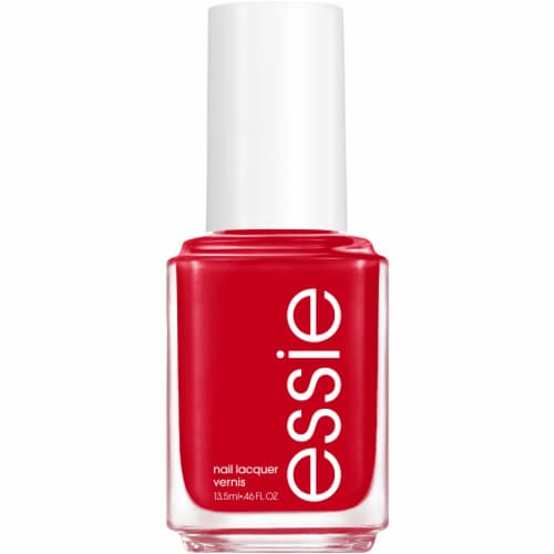 Essie Not Red-Y For Bed Nail Lacquer Perspective: front