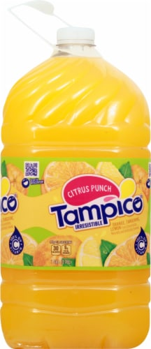 Tampico Citrus Punch Juice Perspective: front
