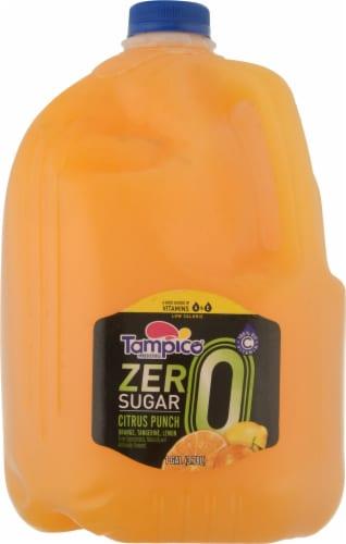 Tampico Zero Sugar Citrus Punch Juice Drink Perspective: front