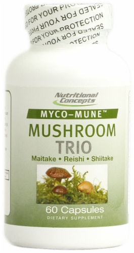 Nutritional Concepts  Myco-Mune™ Mushroom Trio Perspective: front