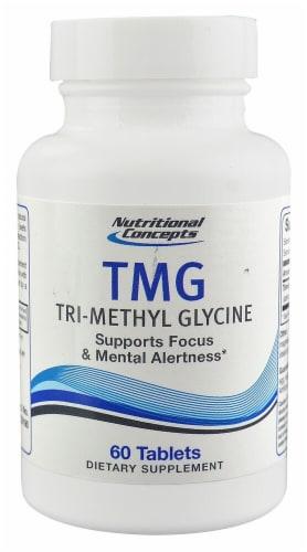 Nutritional Concepts  TMG Tri-Methyl Glycine Perspective: front