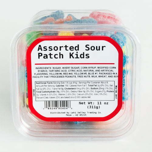 Fry's Food Stores - Lehi Valley Assorted Sour Patch Kids, 11 oz