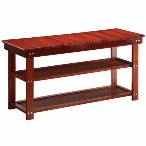 Oxford Utility Mudroom Bench Perspective: front
