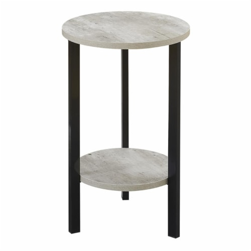 Convenience Concepts 111254 Graystone Plant Stand, 24 in. Perspective: front
