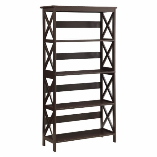 Oxford 5 Tier Bookcase Perspective: front