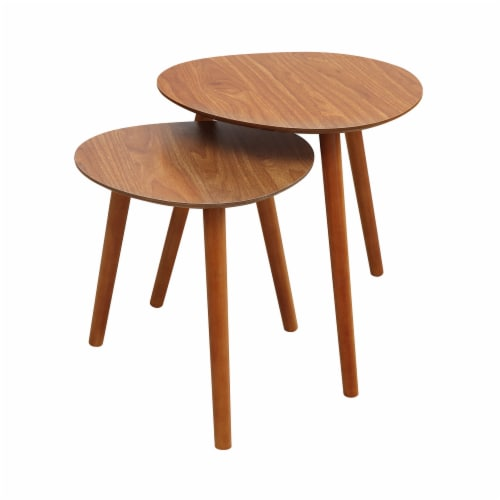 Oslo Java Nesting End Tables Perspective: front