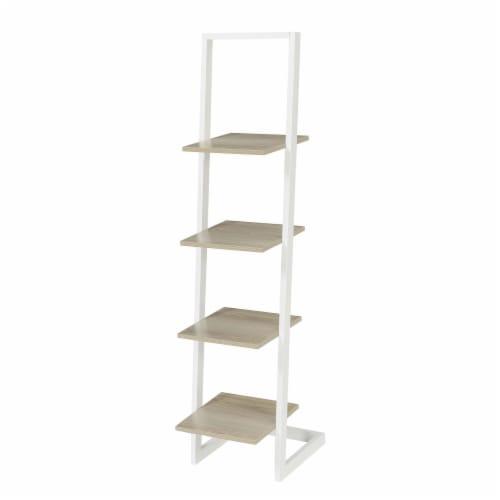 Designs2Go 4 Tier Ladder Bookshelf Perspective: front