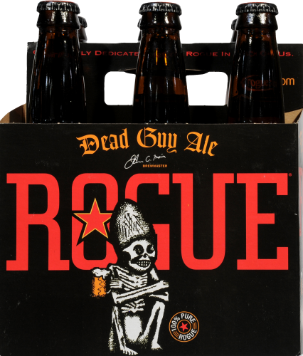 Rogue Dead Guy Ale Perspective: front
