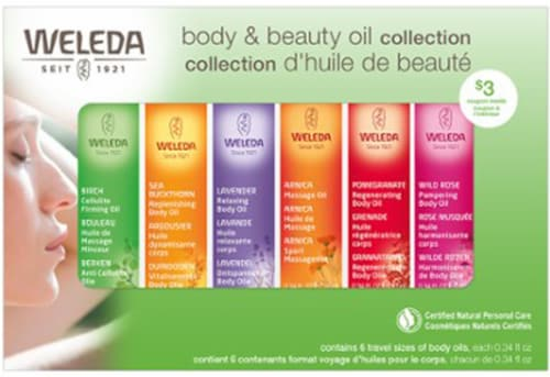 Weleda Essential Body Oil Kit Perspective: front