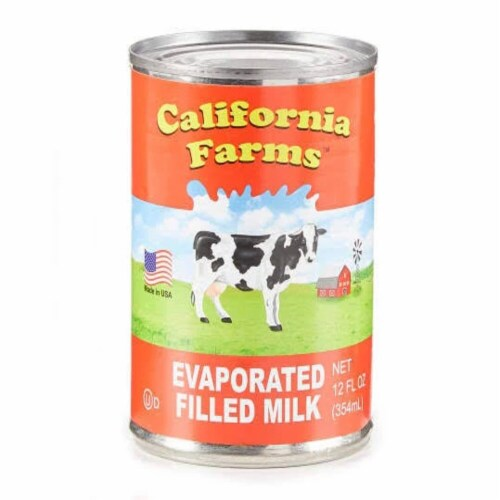 California Farms Evaporated Filled Milk Perspective: front