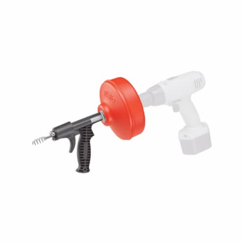 Ridgid Drain Cleaner,Line Cap. Up to 1-1/2   57043 Perspective: front