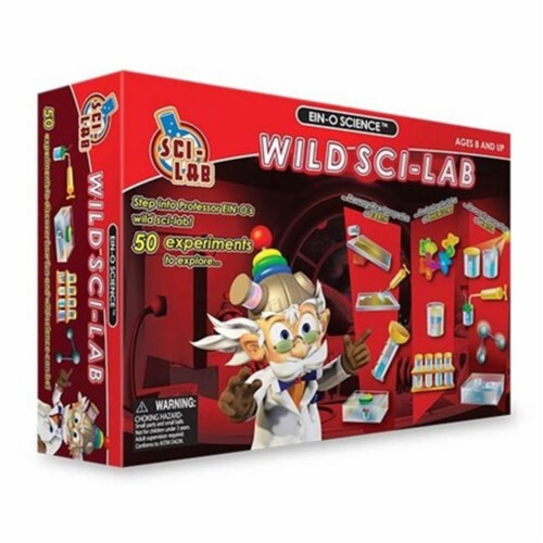 Tedco Toys 02072 Wild Sci-Lab Large Science Kit Perspective: front