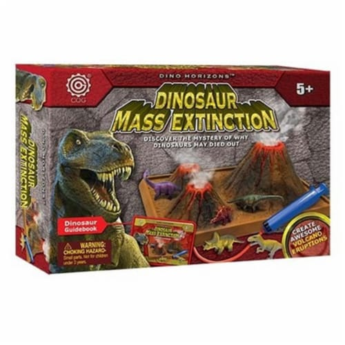 Tedco Toys 34520 Dino Mass Extinction Perspective: front