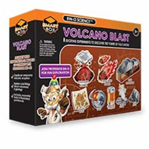 Tedco Toys 32024 Volcano Blast Large Science Kit Perspective: front