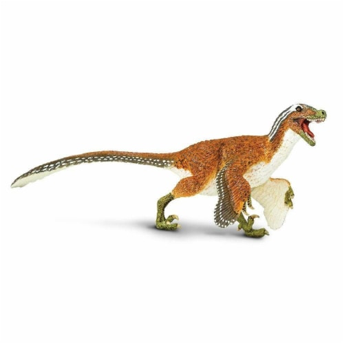 Safari Ltd®  Feathered Velociraptor Toy Figurines Perspective: front