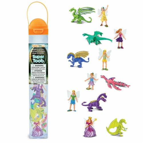 Safari Ltd®  Fairies & Dragons Toy Figurines Perspective: front