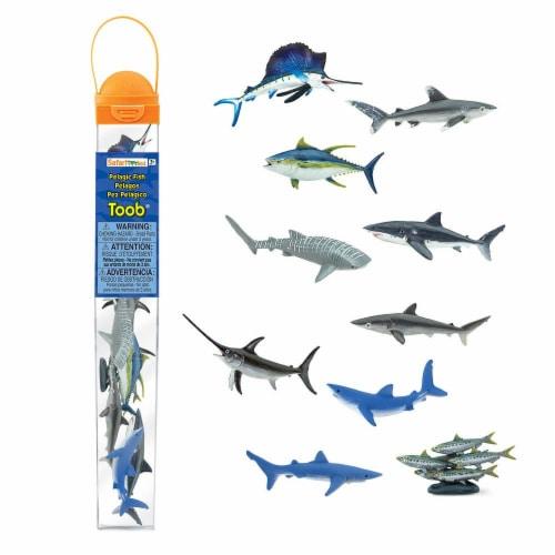 Safari Ltd®  Pelagic Fish Toy Figurines Perspective: front