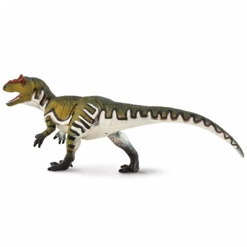 Allosaurus Toy Perspective: front
