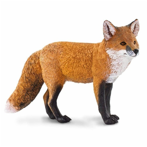 Safari Ltd®  Red Fox Toy Figurines Perspective: front