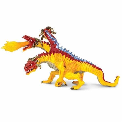 Safari Ltd®  Fire Dragon Toy Figurines Perspective: front