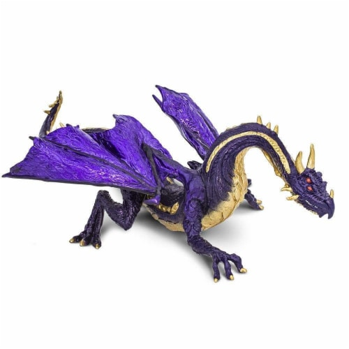 Safari Ltd®  Midnight Moon Dragon Toy Figurines Perspective: front