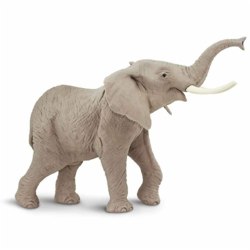 African Elephant Toy Perspective: front
