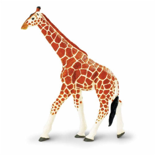 Reticulated Giraffe Toy Perspective: front