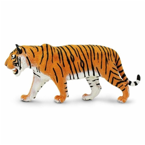Safari Ltd®  Siberian Tiger Toy Figurines Perspective: front