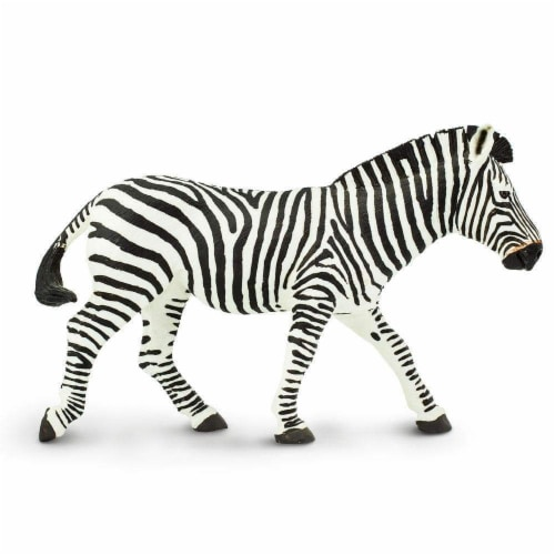 Safari Ltd®  Zebra Toy Figurines Perspective: front