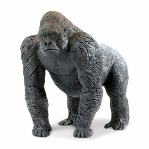 Silverback Gorilla Toy Perspective: front