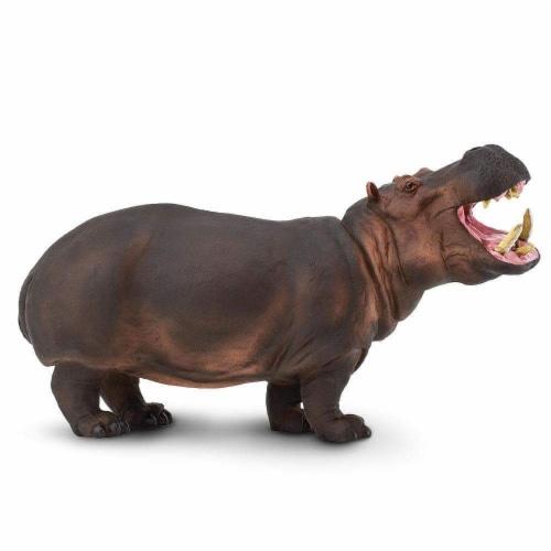Hippopotamus Toy Perspective: front