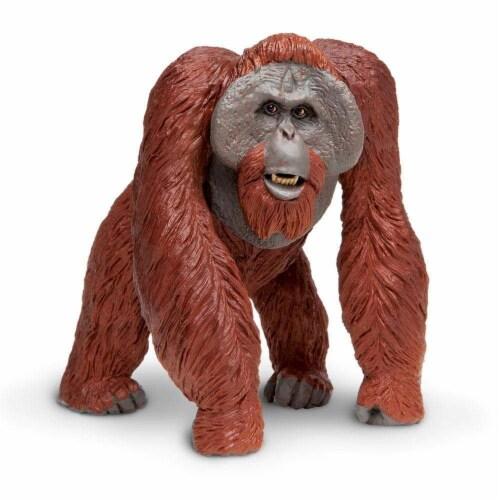 Safari Ltd®  Bornean Orangutan Toy Figurines Perspective: front