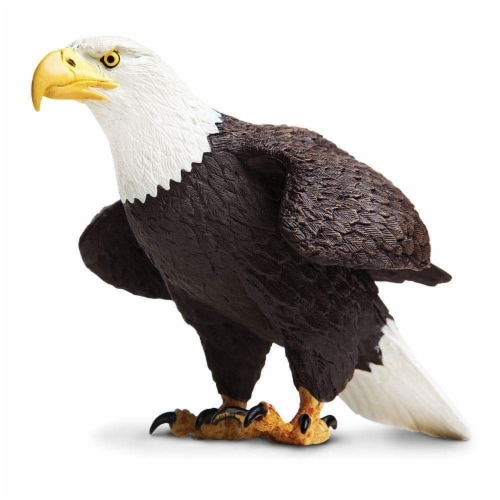 Safari Ltd®  Bald Eagle Toy Figurines Perspective: front
