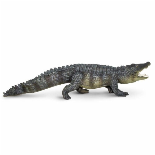 Safari Ltd®  Saltwater Crocodile Toy Figurines Perspective: front