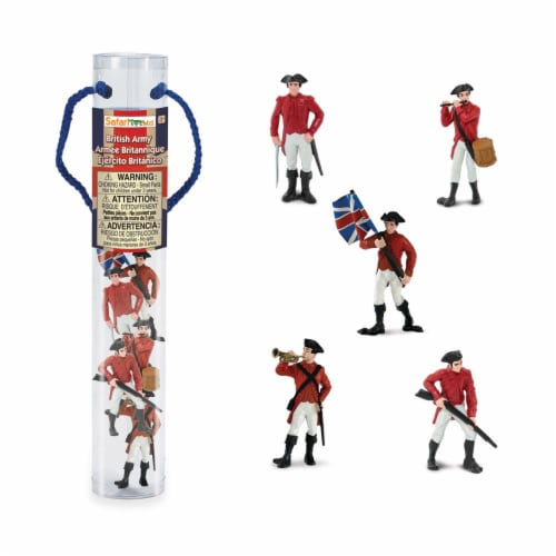 Safari Ltd®  American Rev. War British Army Perspective: front