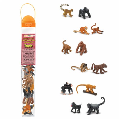 Safari Ltd®  Monkeys And Apes Perspective: front