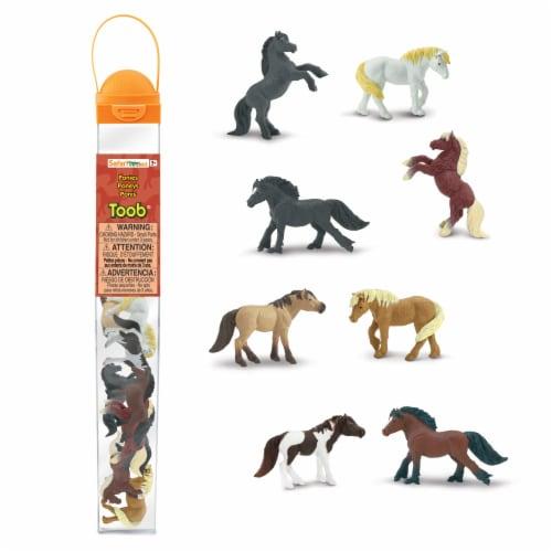 Safari Ltd®  Ponies Perspective: front