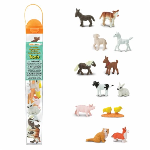 Safari Ltd®  Farm Babies Perspective: front