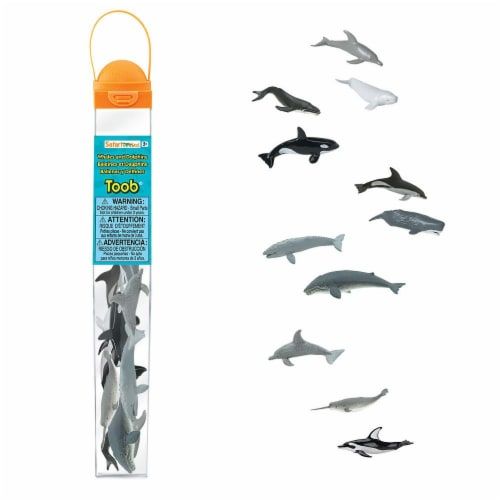 Safari Ltd®  Whales And Dolphins Perspective: front
