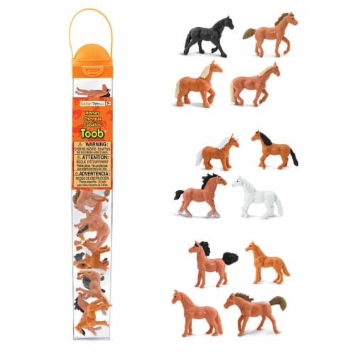 Safari Ltd®  Horses Perspective: front