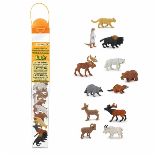 Safari Ltd®  North American Wildlife Perspective: front