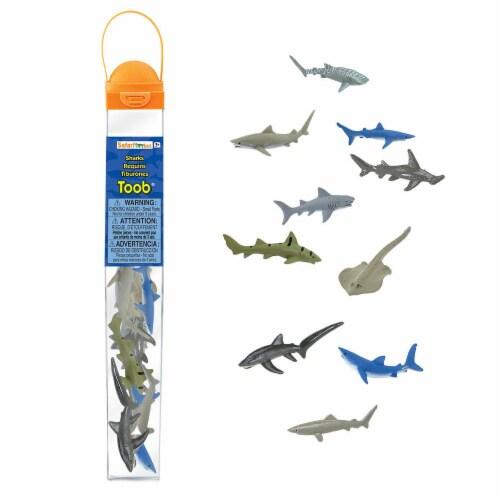 Safari Ltd®  Sharks Perspective: front