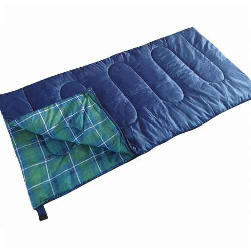 Kamp-Rite Tent Cot Inc Sleeping Bag,Blue,Polyester,5 lb.,25F  SB271 Perspective: front