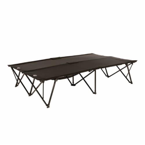 Kamp-Rite Double Kwik-Cot 2 Person Compact Indoor & Outdoor Camping Sleeping Cot Perspective: front