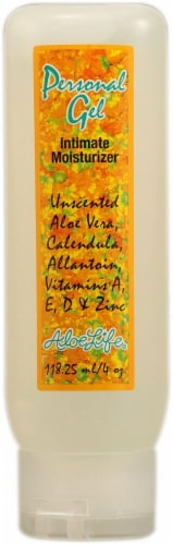 Aloe Life Personal Gel Unscented Intimate Moisturizer Perspective: front