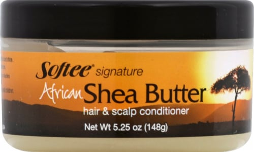 Softee Signature African Shea Butter Hair & Scalp Conditioner Perspective: front